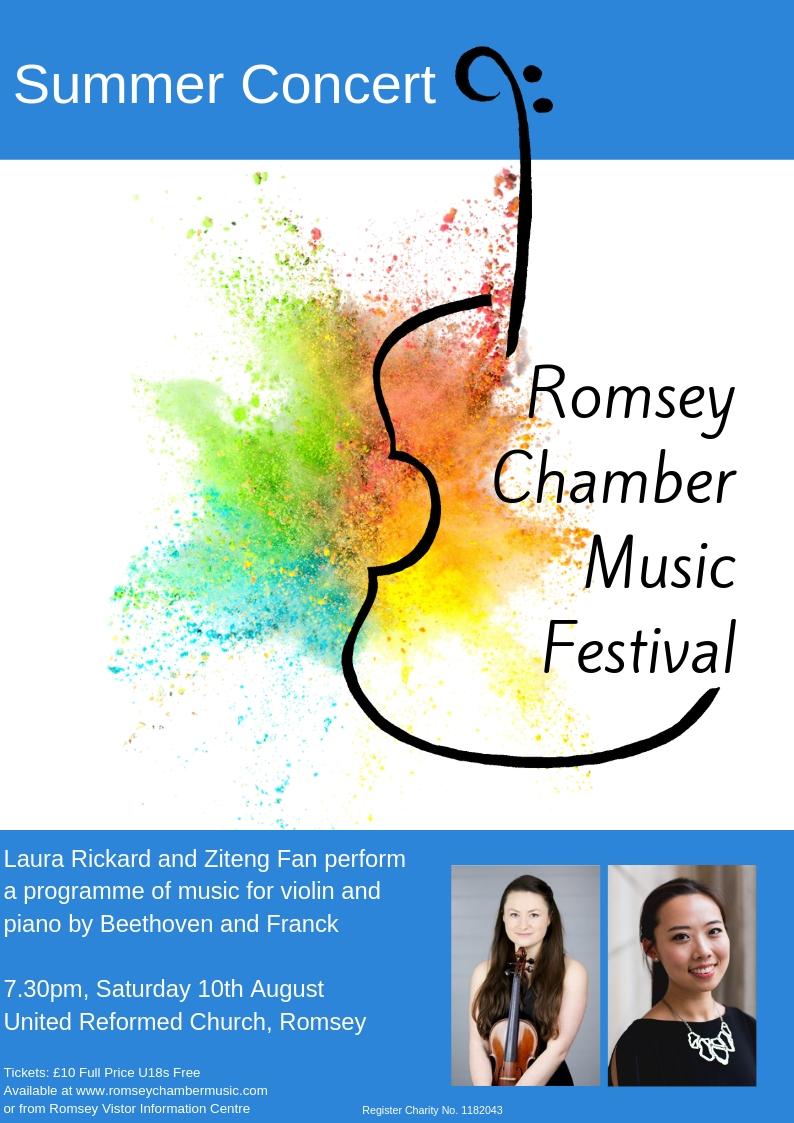 Romsey Chamber Music Festival Summer Concert jpeg